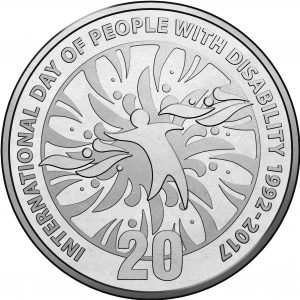 IDPD Commemorative Coin